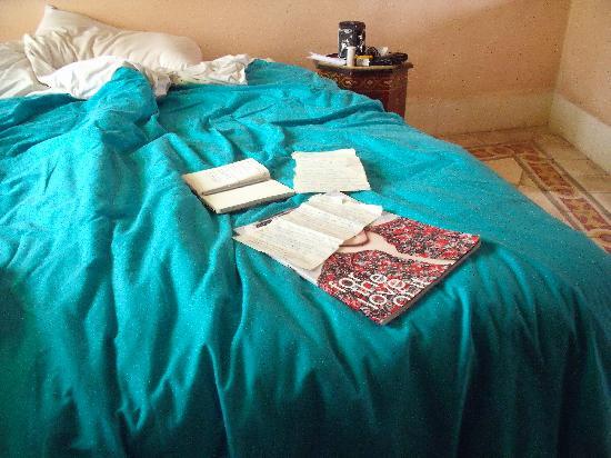 La Maison Du Vent : the bed