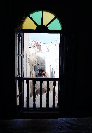 La Maison Du Vent : looking out the large window