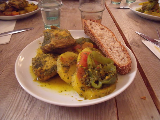 Souk Cuisine: eating our day's work!