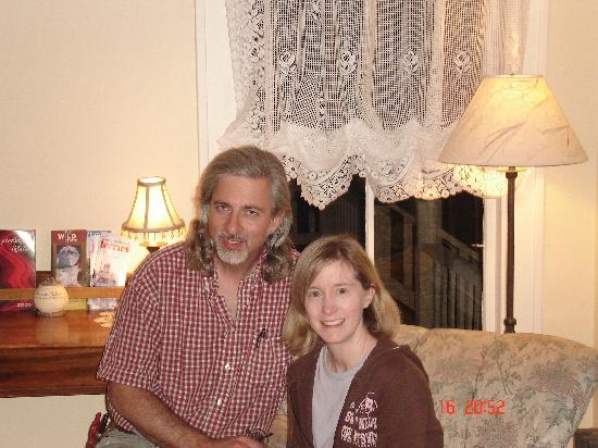 Snow Goose Bed and Breakfast: Wayne et Amy, nos hôtes