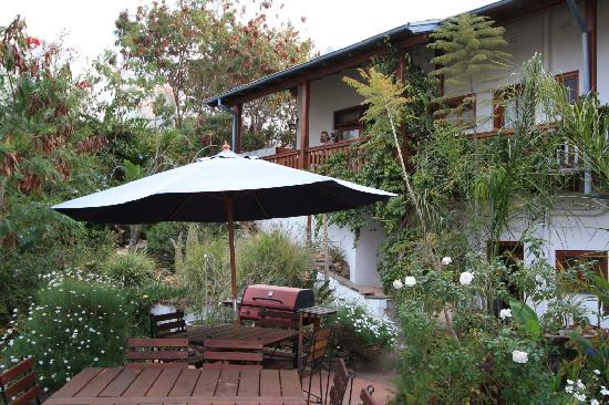 Hilltop Guesthouse: The garden