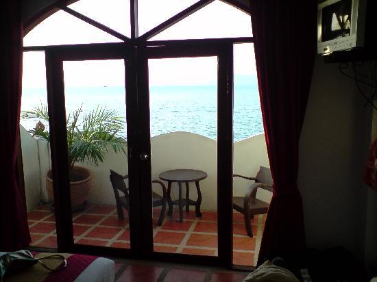 L' Hacienda: balcon