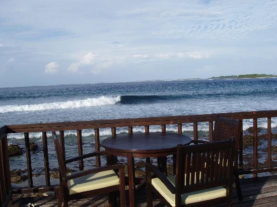 Cinnamon Dhonveli Maldives: la terrasse du Raadhu bar