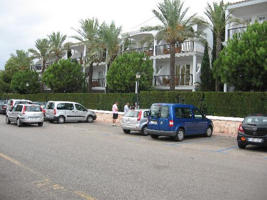 Inturotel Sa Marina: Our apartment from below