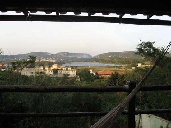 Pousada Vila Pitanga: view from our room @ vila pitanga