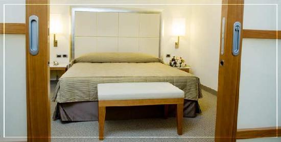 Hotel Airone : La camera, ben rifinita, ottima la pulizia.