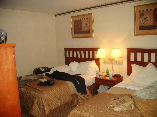 Comfort Inn: Twin room again