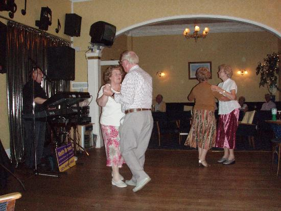 Nethway Hotel: mum and dad dancing in the lounge