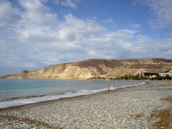 Pissouri, Cypr: The Beach