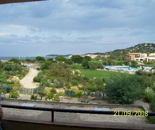 Residenz Maeva Les Marines de Gassin: vue depuis notre balcon