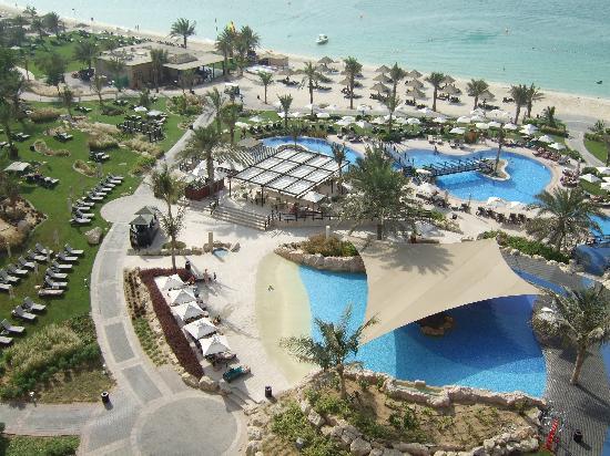 The Westin Dubai Mina Seyahi Beach Resort & Marina: View from hotel room