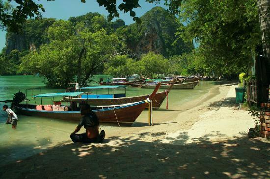 Railay Village Resort: la llegada