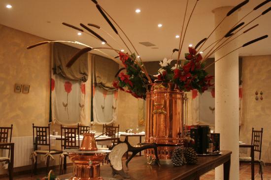 El Romeral Hotel: ホテル内のレストランです