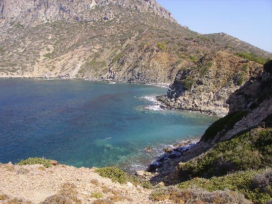 Kalydna Island Hotel: View of Kalymnos from Telendos