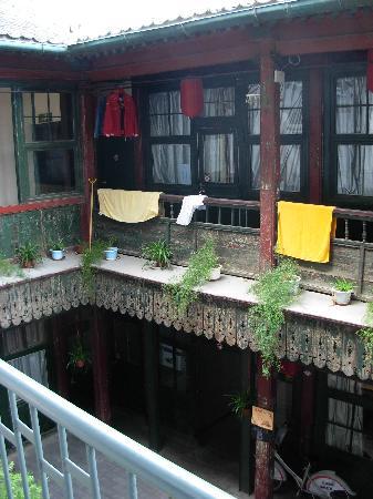 Qianmen Hostel: La cour intérieure