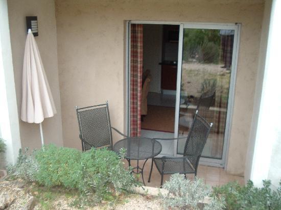 Residence Caesar Domus : patio area