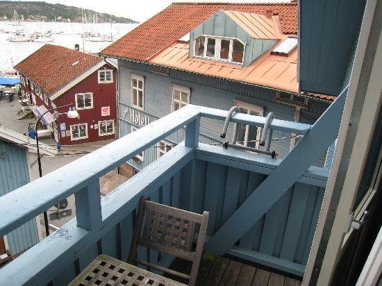 Stora Hotellet Bryggan: balconcito pequeño,bonito