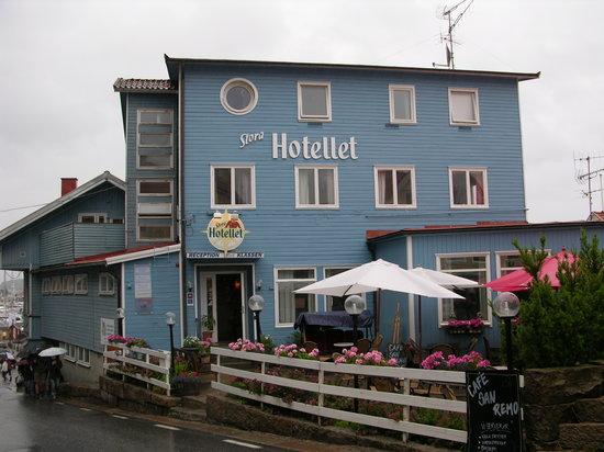 Stora Hotellet Bryggan: Exterior hotel bonito