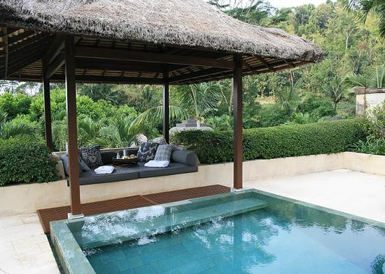 Amanjiwo Resorts: Personal Pool in the villa