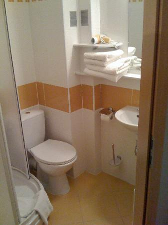 System Hotel Wroclaw: Bathroom