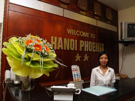 Hanoi Phoenix Hotel: Pleased to be of assistance.