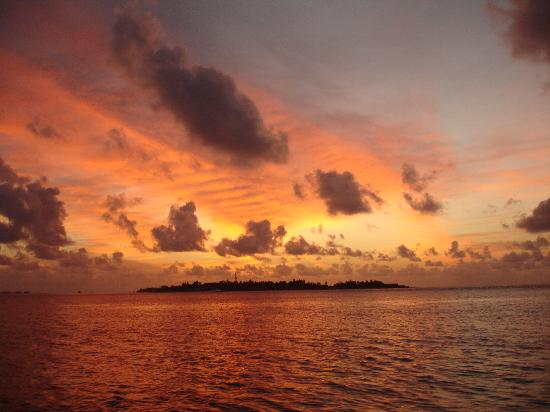 Cinnamon Dhonveli Maldives: Sunset on Dolphin Trip