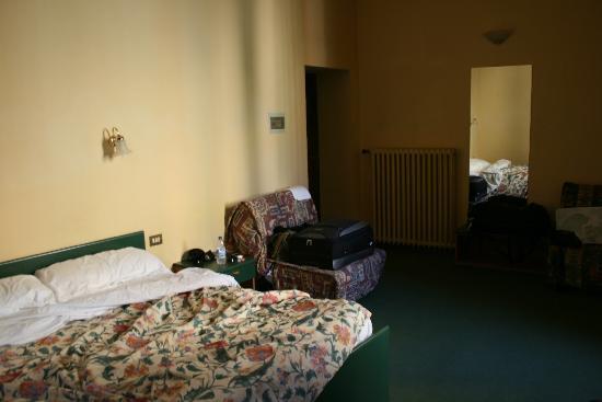 Piccolo Hotel Il Palio: The bedroom again!