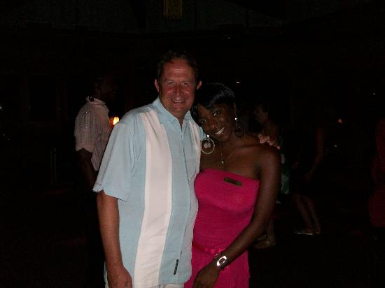 Couples Negril: Colin and Amanda. Lovely lady