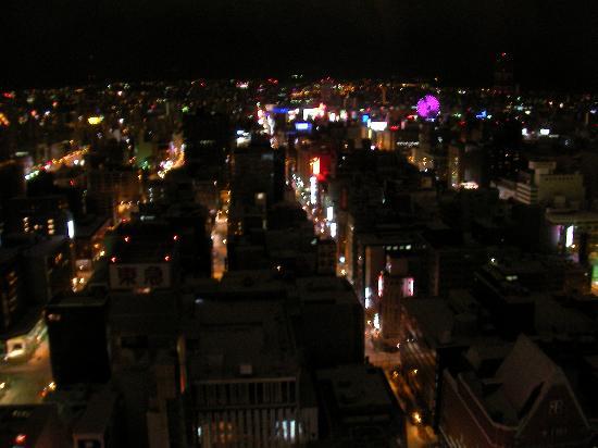 JR Tower Hotel Nikko Sapporo: 実際はもっときれいでロマンチックです;