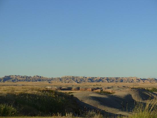 Circle View Guest Ranch: View of Badlands from ranch