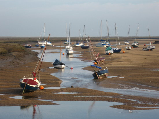 Wells-next-the-Sea, UK : View from the Quay