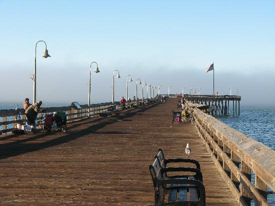 Vagabond Inn Ventura : the municipal wharf