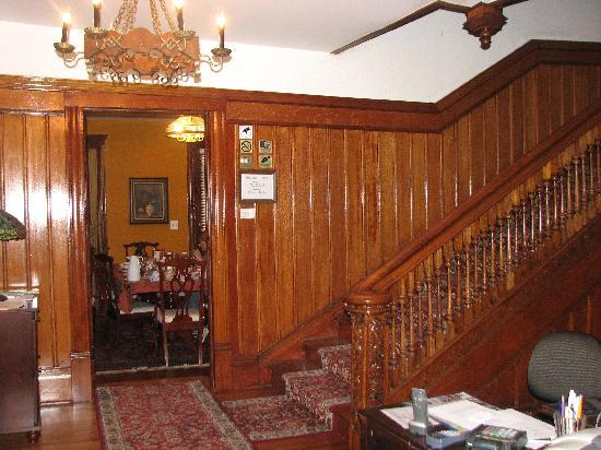 hall and breakfast room