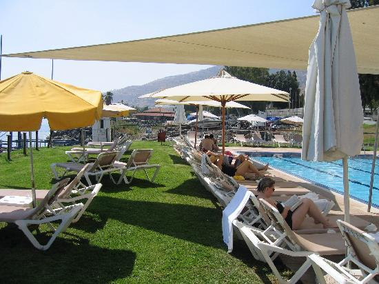 Rimonim Galei Kinnereth Hotel: Sun terrace
