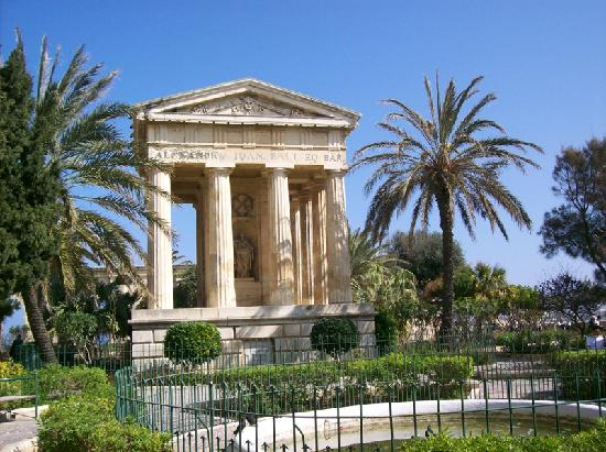 Malta Valletta Lower Barrakka Gardens Picture Of