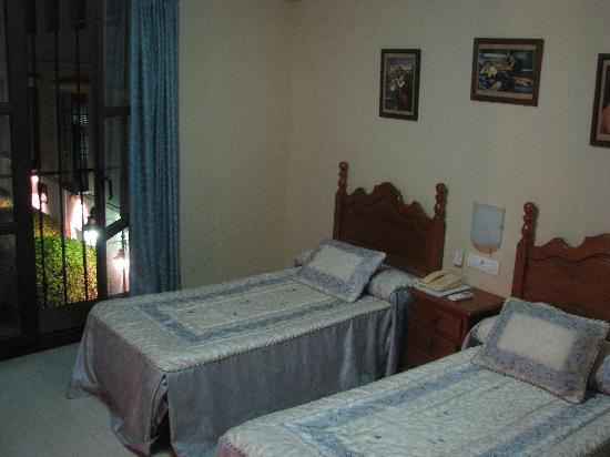 Hotel Gonzalez: Twin room