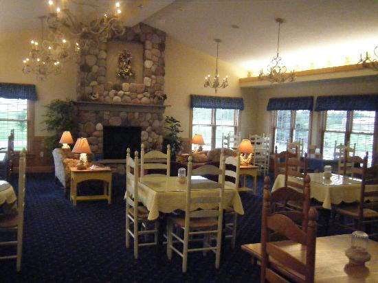 Middlebury, IN: Breakfast area