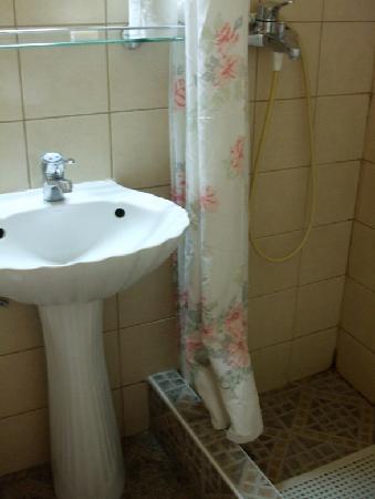 Ionion Hotel Piraeus : Our bathroom