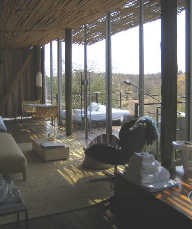 Singita Lebombo Lodge: our glass villa