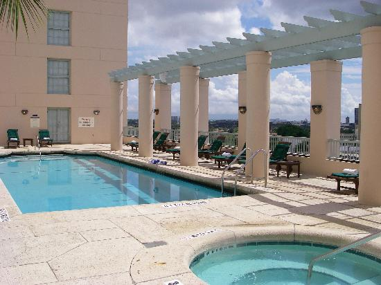 Hotel Colonnade Coral Gables: view of the pool 2