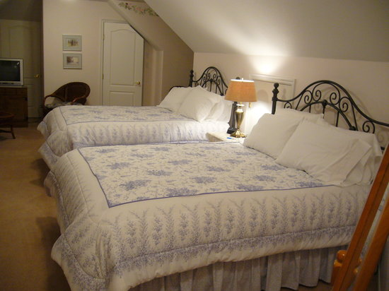 Oceanview Bed and Breakfast: Der zuvor genannte Thyme-Room mit eigenem Bad.