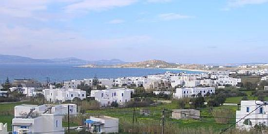 Naxos Kalimera Hotel: view from studio