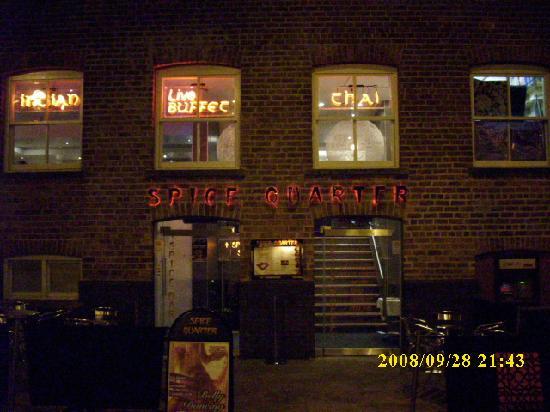 Spice Quarter - Leeds: Spice Quarter nachts