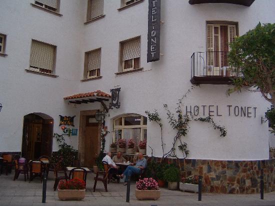 Hotel Tonet: Terrace overlooking the Church
