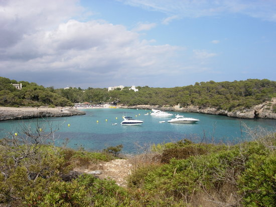 Cala Mondrago, Spain: Another distant view of  fab beaches