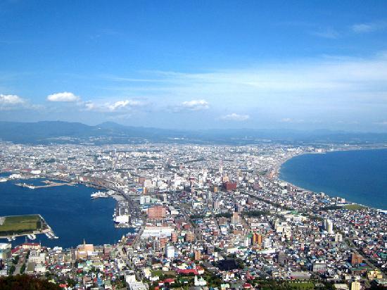 Hakodate, Japan: 昼の景色