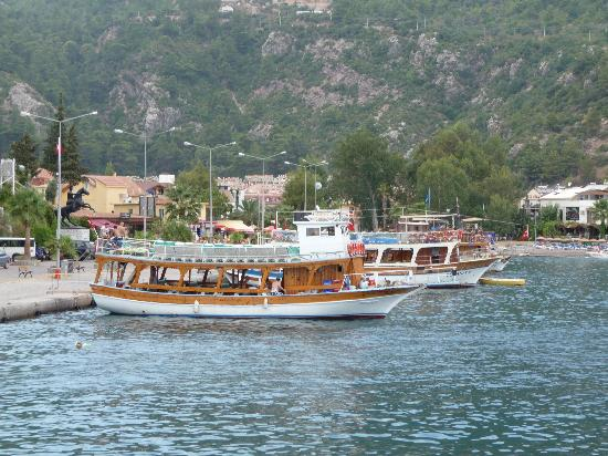 Grand Pasa Hotel : Great boat trips