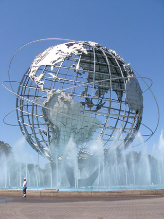 Queens, Νέα Υόρκη: Unisphere, Flushing Meadows.