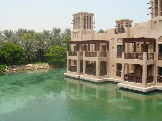 Jumeirah Dar Al Masyaf at Madinat Jumeirah: view from the balcony
