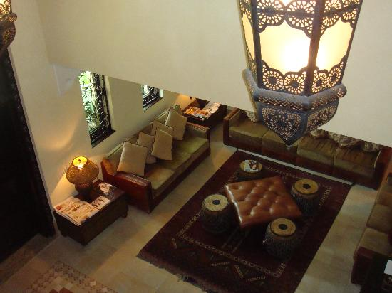 Jumeirah Dar Al Masyaf at Madinat Jumeirah : Reception which is a stones throw away and where the butler stays